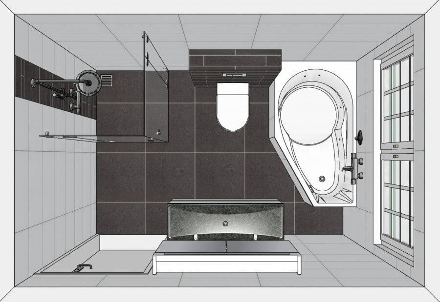 Badkamer Bad Afmetingen Afmetingen grote badkamer u2013 copyjackinfo Afmet # Miva Wasbak_160943